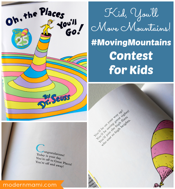 Dr Seuss Kid You Ll Move Mountains: Moving Mountains With Dr. Seuss Classics: Foster A Love Of