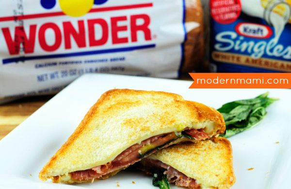Easy Italian Style Grilled Cheese Sandwich {Recipe ...