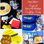 Family Craft & Movie Night with Paul Bart Mall Cop 2! {Kids Craft}