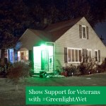 Small Gesture, Big Show of Support for Veterans #GreenlightAVet