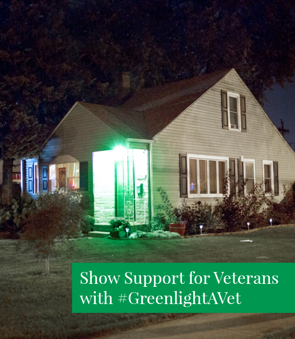 Greenlight A Vet for Veterans Day