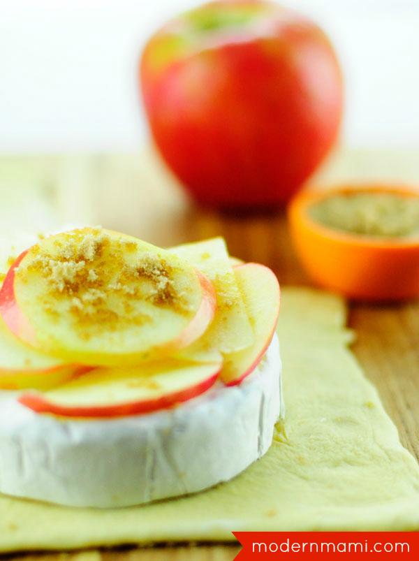 Crescent Wrapped Apple Brie Recipe