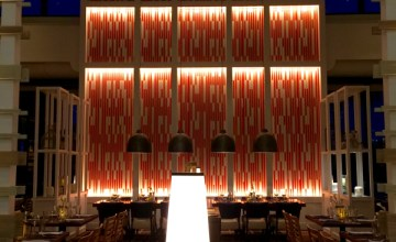 Upscale Dining at Hyatt Regency's LakeHouse