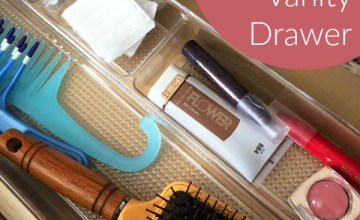 Our New Home: Organizing My Bathroom Vanity Drawer