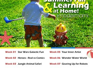 It's a Jungle Animal Safari During Our #8WeeksofSummerFun!