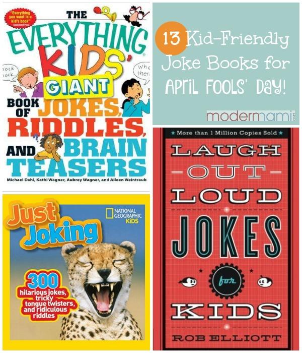 Kid Friendly April Fools Jokes