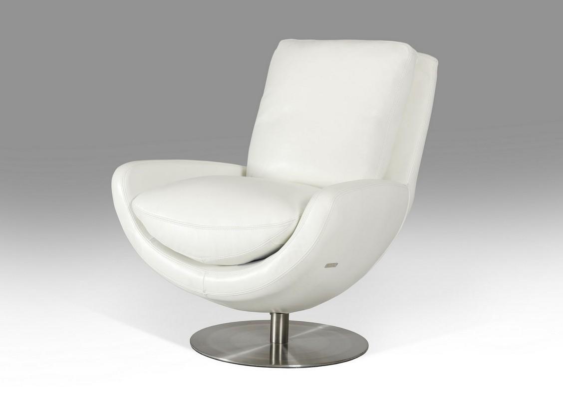 modern leather lounge chair unusual occasional chairs uk divani casa salone white full
