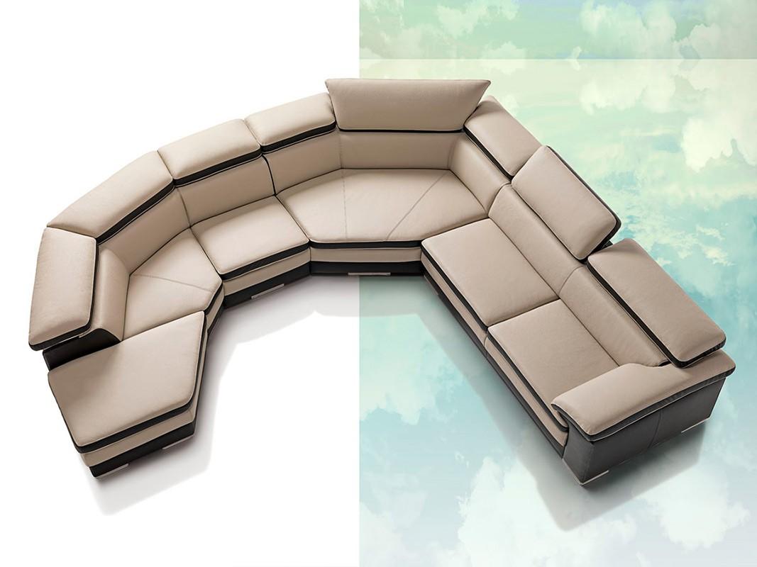 contemporary sofa sectional dwell bed pisa samoa full italian leather