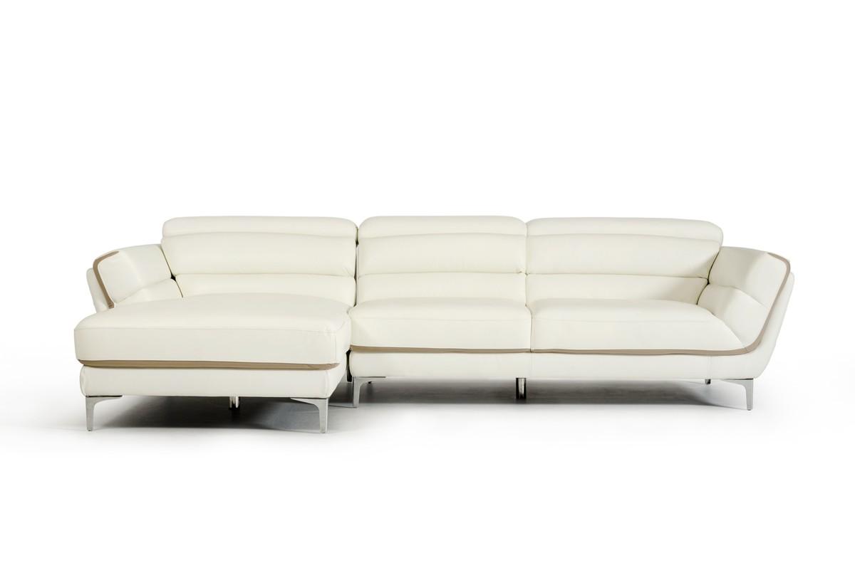 divani casa potash modern taupe fabric sofa set tufted sofas on sale longford white and leather