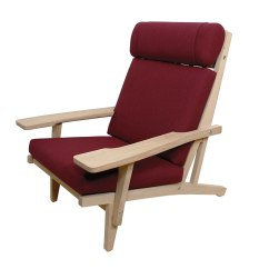 High Back Easy Chair Saarinen Grasshopper Lounge Modern Mobler