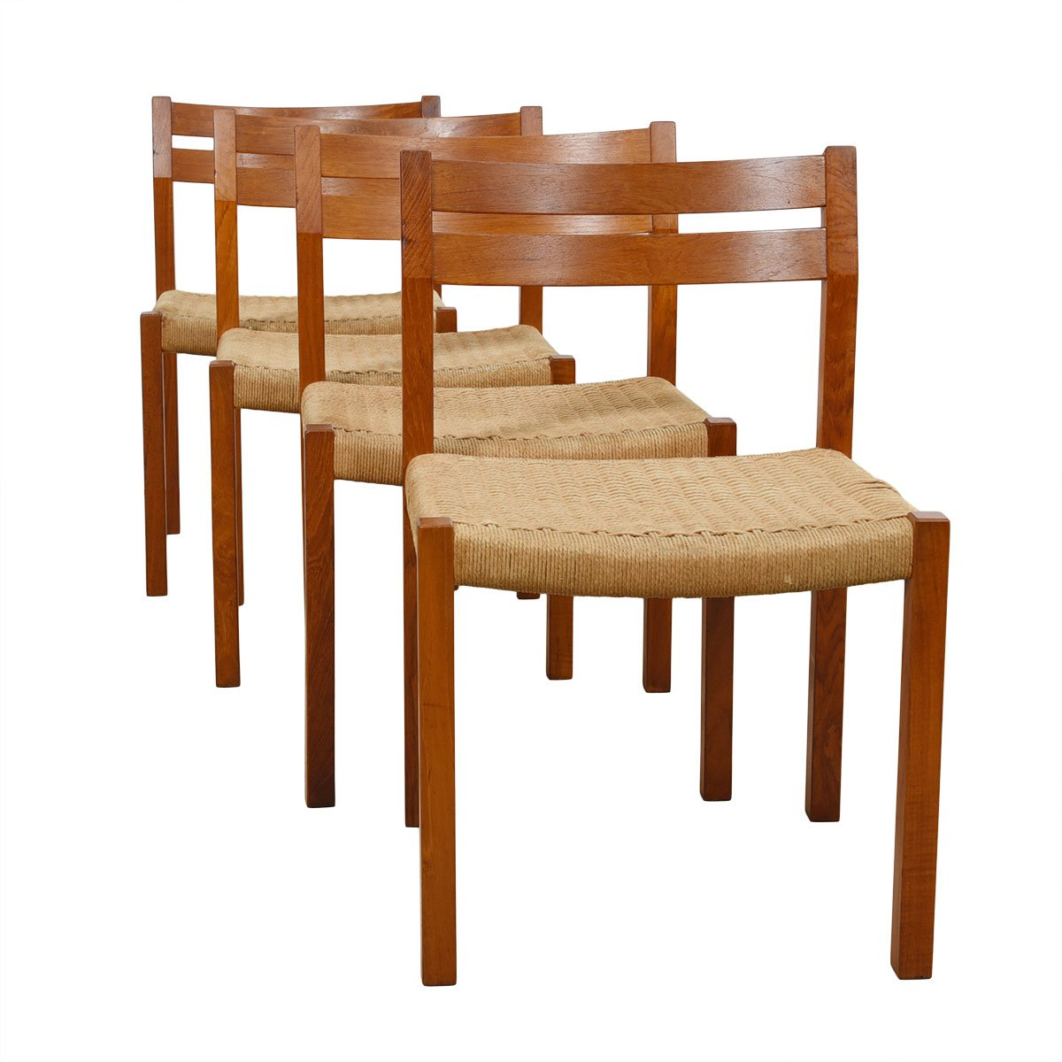danish modern dining chair small chairs for spaces mobler j l moller set of 4 teak