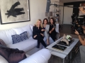 Shooting condo video reveal. Love it @laurelandwolf Thx! @MyHabit #getYourDesignOn