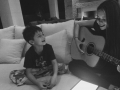 Best Super Bowl memory. Sunday family jam session.