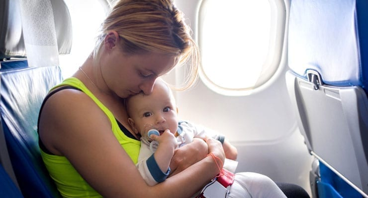Baby Flying With an Ear Infection  ModernMom