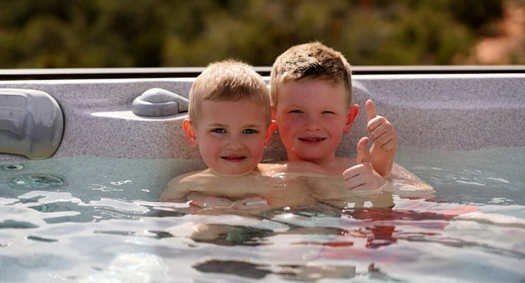 Children & Hot Tubs