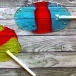 Homemade Easter Egg Lollipops Made From Jolly Ranchers