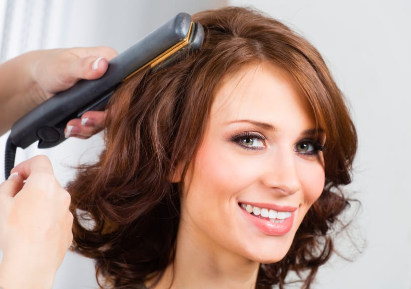 How To Spiral Curl Your Hair With A Flat Iron ModernMom