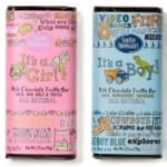 Seattle Chocolate Baby Announcement Truffle Bars