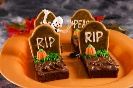 scary spooky halloween treats - Scary Halloween Dessert