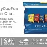 #FritoLayZooFun Twitter Party