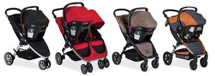 Britax Recalls Over 700,000 Strollers