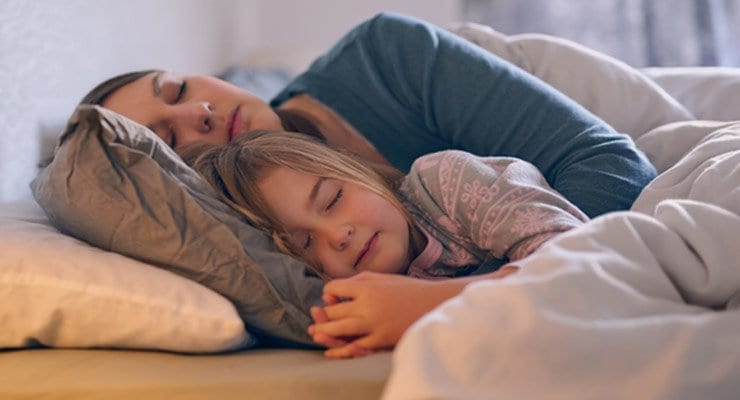 Lying Down With Your Children: Healthy or Not?
