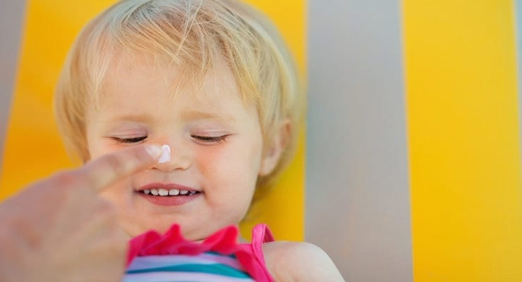 EWG's Worst Sunscreens for Babies and Kids