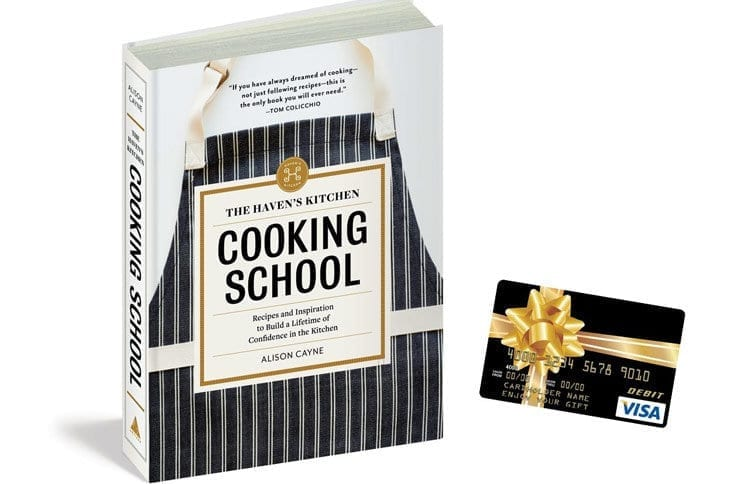The Haven's Kitchen Cooking School $100 Visa Gift Card Giveaway