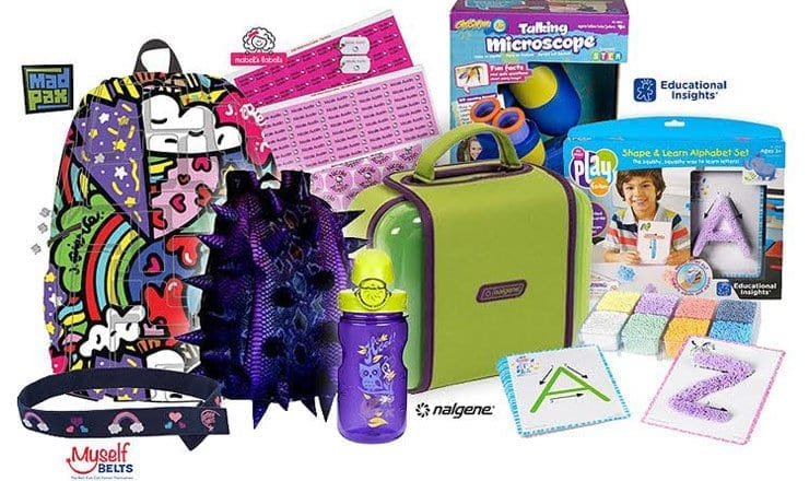 Back-To-School Celebrity Kids Gift Bag Giveaway (worth over $250)
