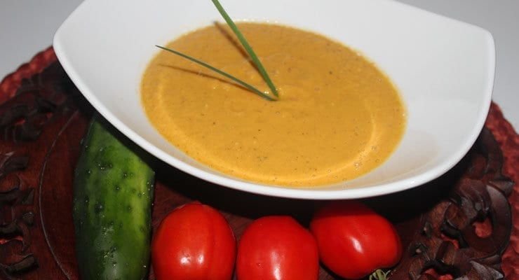 Clark's Golden Beet Gazpacho Recipe