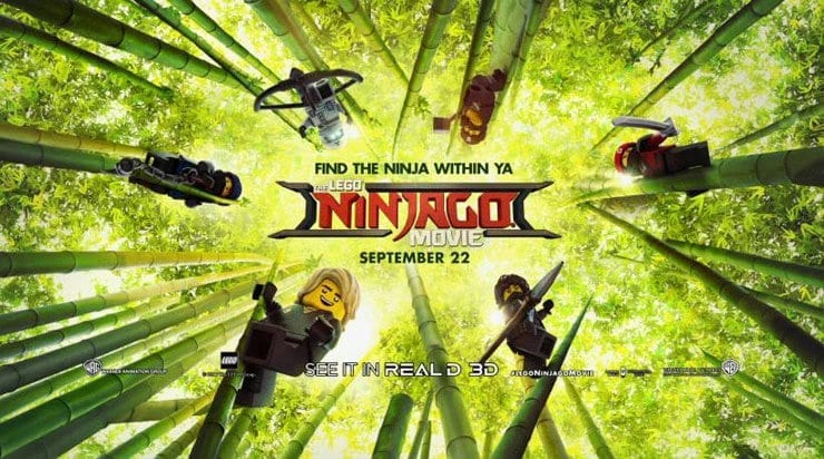 The LEGO NINJAGO Movie + $100 American Express Gift Card Giveaway