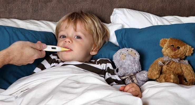 How to Treat a Toddler With a Fever