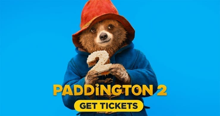 Paddington 2 $100 Visa and Plush Bear Giveaway