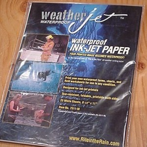 WeatherJet Waterproof Ink Jet Printer Paper - 25
