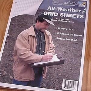 Grid Sheet Pads - 1150 5mm Graph