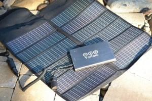 Trek North 10 solar charger kit