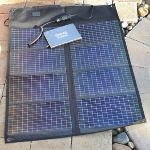 Trek North 20 solar charger kit