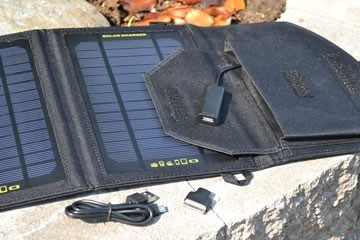Secur 7 solar charger with pocket