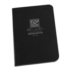 Rite in the Rain 754 : Field-Flex Mini Notebook (Black)