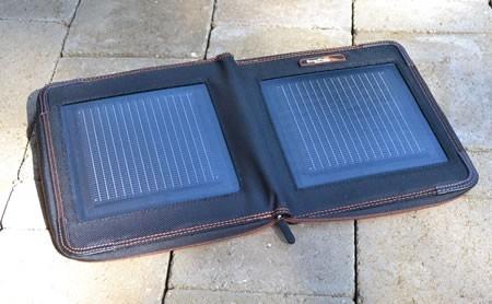 Enerplex Kickr II Plus open solar panel