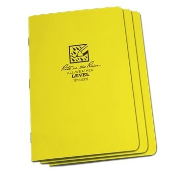 Rite in the Rain 311FX : Stapled Notebook (Level)