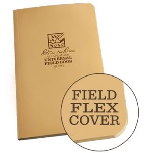 Rite in the Rain 974T tan field flex notebook