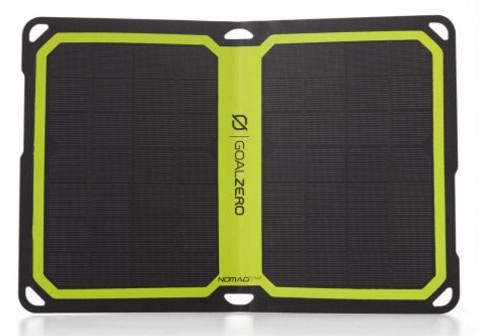 goal zero nomad-7 plus solar panel