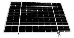 lumos LSX frameless solar module