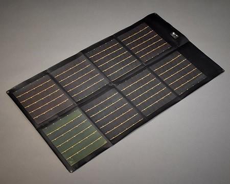 p3 60w folding solar panel black