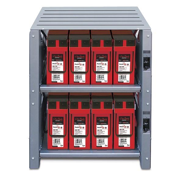 outback ibc-2-48-175 battery rack
