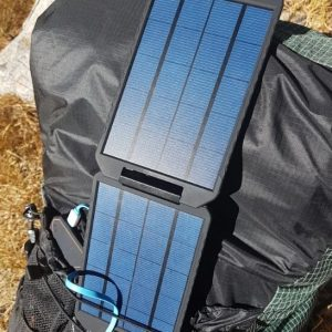 powertraveller extreme solar panel backpack