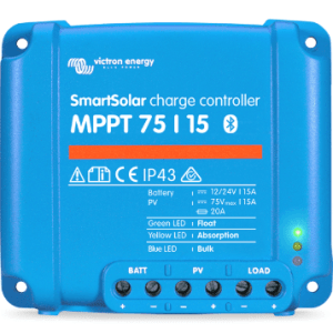 victron smartsolar mppt solar charge controller 75-100