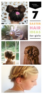 hair tutorials and braids easter