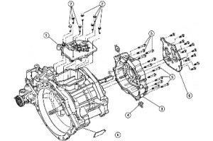 T850 Case Components (2 of 3), 0405 Neon SRT4, Transmission: Store Name